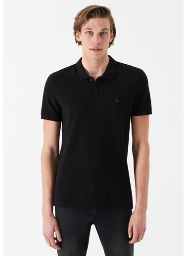 Mavi Tişört Siyah